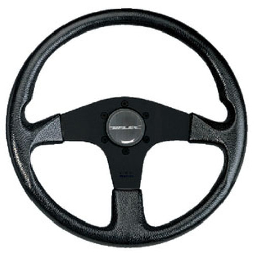 Uflex Steering Wheel Black PVC Grip Corsebb