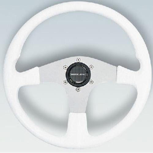 Uflex Steering Wheel White PVC Grip Corse-with S