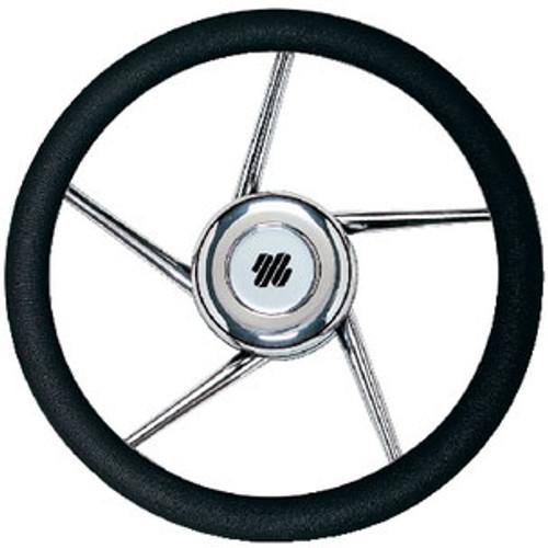 Uflex Steering Wheel-Black Grip SS 5-Spk V01