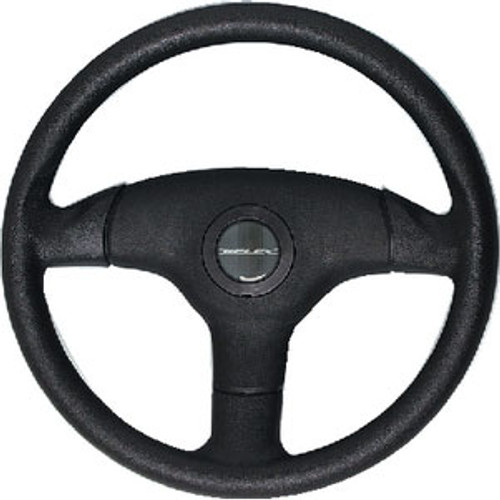 Uflex Steering Wheel-Black 3-Spoke V60