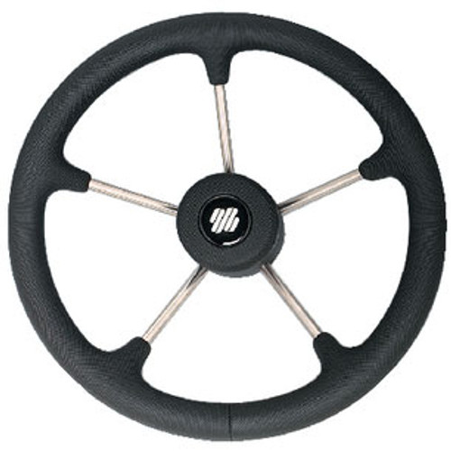 Uflex Steering Wheel-Black Poly 5-Spk V70B