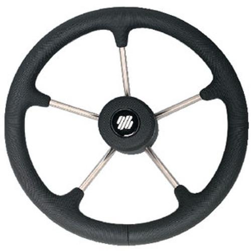 Uflex Steering Wheel-Black Poly 5-Spk V70B