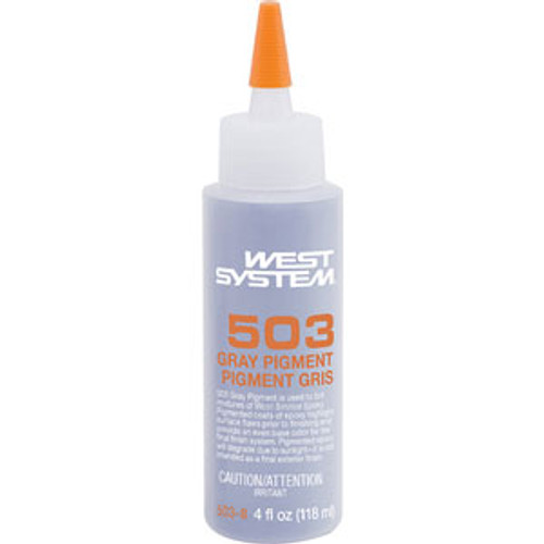 West System Gray Pigment 4oz 5038