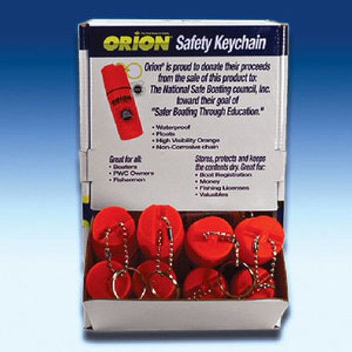 Orion Safety Products Floating Keychain In Display Keyc