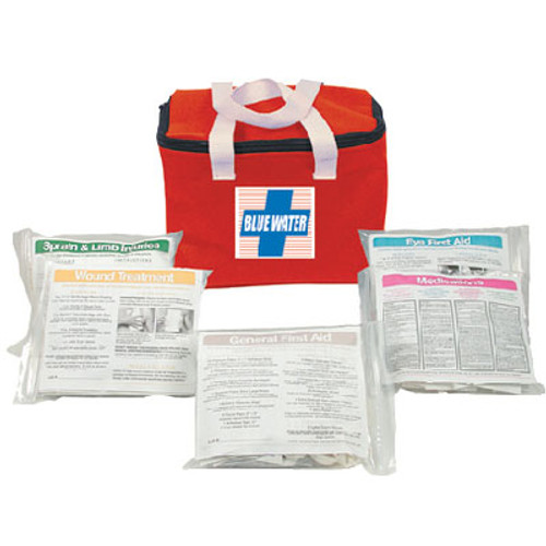 Orion Safety Products Blu Water First Aid Kit Nylon Bag 841