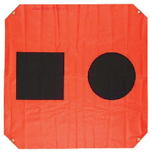 Orion Safety Products 3'X3' Orange Distress Flag 925