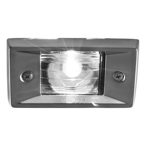 Attwood Marine Flush Mount Transom Light Rect 66382-7