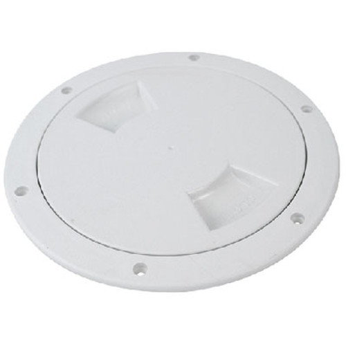 "Attwood Marine White 6"" Deck Plate 12792-1"