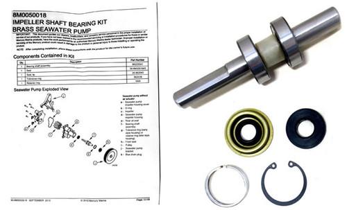 OEM Mercury MerCruiser Water Pump Drive Shaft Kit 8M0140001