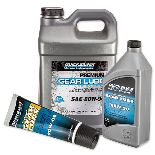 OEM Quicksilver Premium 80W90 Gear Lube