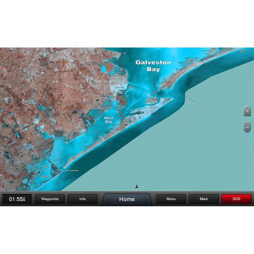 Garmin Standard Mapping - Texas East Classic microSD/SD Card