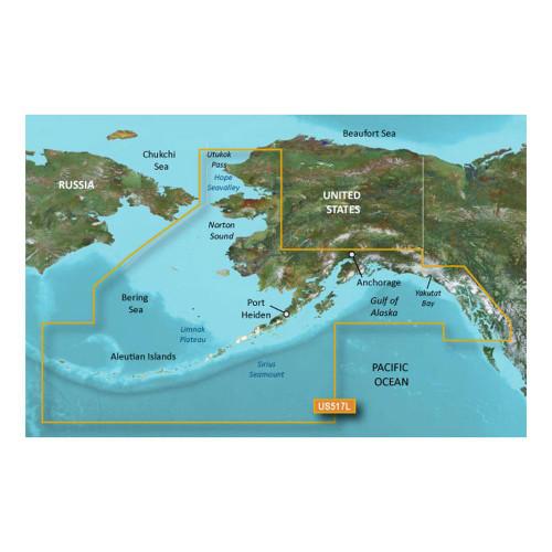 Garmin BlueChart g2 Vision HD - VUS517L - Alaska South - microSD/SD 010-C0887-00