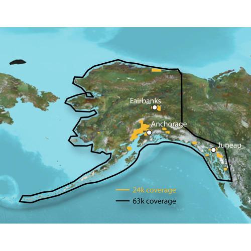 Garmin TOPO - Alaska Enhanced - microSD/SD 010-C1057-00