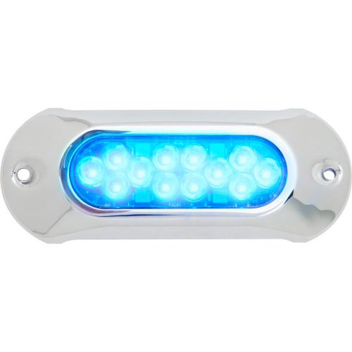 Attwood Light Armor Underwater LED Light - 12 LEDs - Blue 65UW12B-7