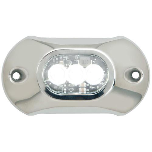 Attwood Light Armor Underwater LED Light - 3 LEDs - White 65UW03W-7