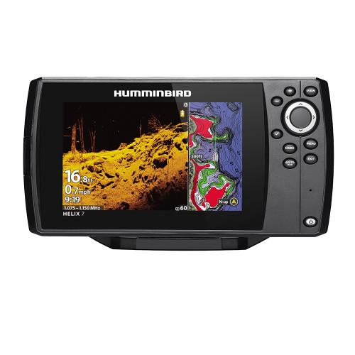 Humminbird HELIX 7 CHIRP MEGA DI Fishfinder/GPS Combo G3 w/Transom Mount Transducer