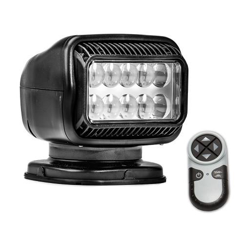 Golight Radioray GT Series Permanent Mount - Black LED - Wireless Handheld Remote