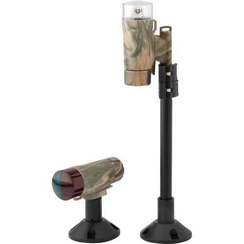 Attwood PaddleSport Portable Navigation Light Kit - Screw Down or Adhesive Pad - RealTree Max-4 Camo 14193-7