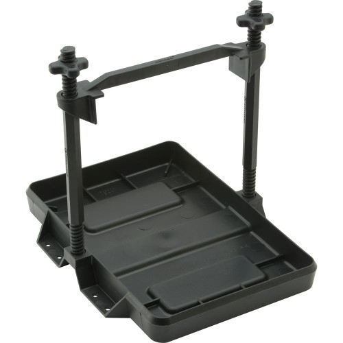 Attwood Heavy-Duty All-Plastic Adjustable Battery Tray - 27 Series 9098-5