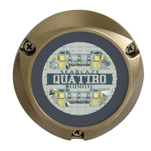 Lumitec SeaBlaze Quattro LED Underwater Light - Dual Color - White/Blue 101511