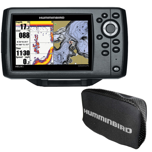 Humminbird HELIX 5 Chirp GPS G2 Combo w/Free Cover