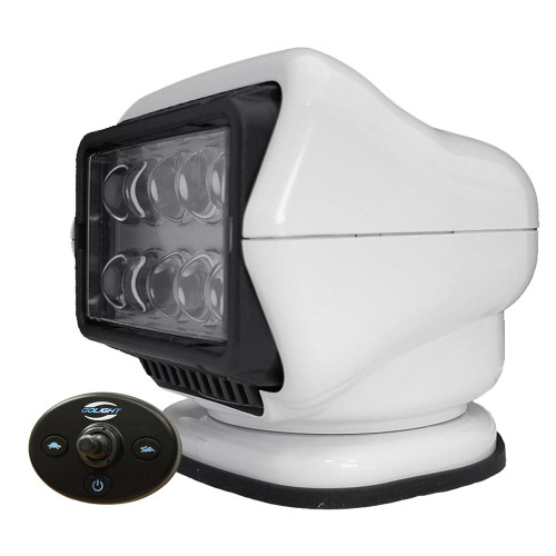 Golight LED Stryker Searchlight w/Wired Dash Remote - Permanent Mount - White 30204