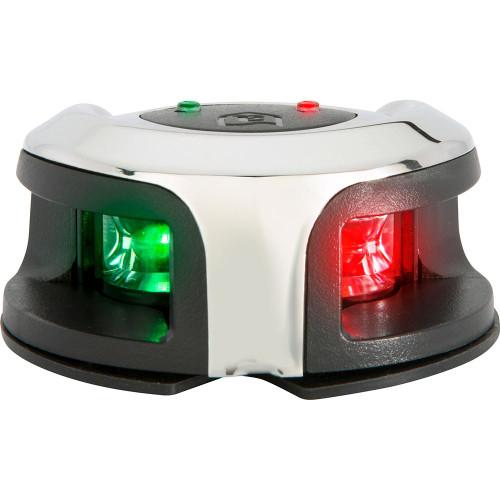 Attwood LightArmor Bow Mount Navigation Light - Stainless Steel - Bi-Color - 2NM NV2002SS-7