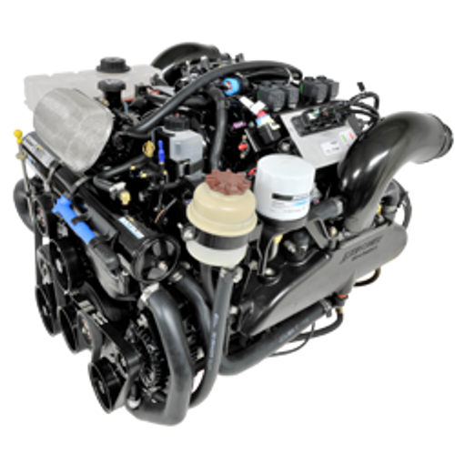 New Quicksilver MerCruiser 496 Bravo Engine 375 HP 8m0139659