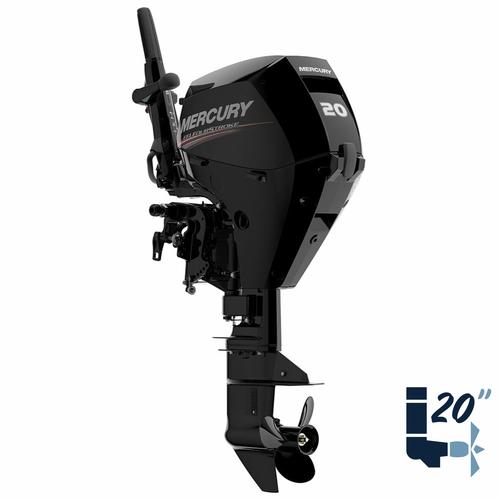 "New Mercury 20MLH EFI 20"" Shaft Electric Start Four Stroke Tiller Outboard 1A20211LK"