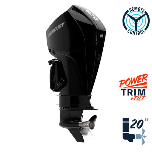 "New Mercury 175XL FourStroke DTS 4.8"" 1.85  25"" Shaft Power Trim & Tilt Remote Outboard 11750006A"