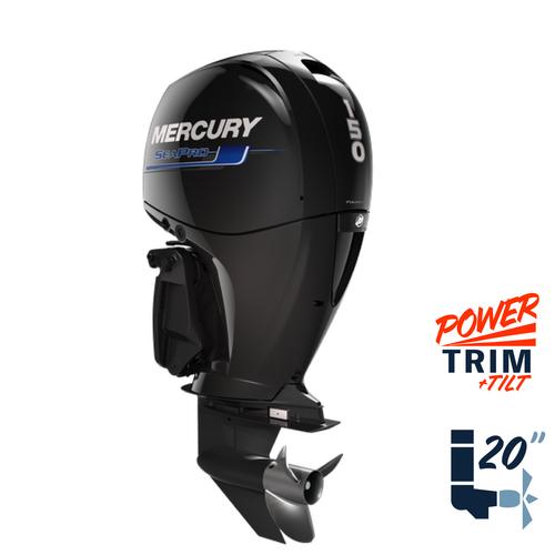 "New Mercury 150L SeaPro  20"" Shaft Power Trim & Tilt Remote Outboard 1151F17ED"