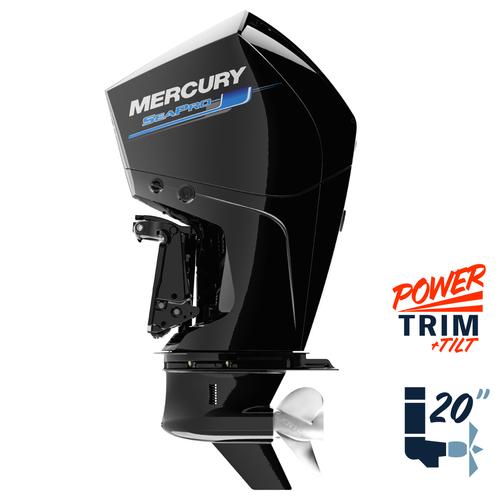 """New Mercury 300L SeaPro 5.44"""" 1.75  20"""" Shaft Power Trim & Tilt Remote Outboard 13000024A"""