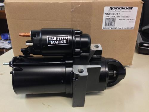OEM MerCruiser 4 Cylinder V6 V8 Mag MPI Starter Motor 50-863007A1 (Replaces 50-806964A3 & 50-806964A4)