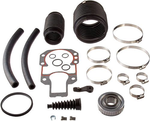 Sierra MerCruiser Alpha Gen 1 R MR Bellows Seal / Repair Kit 30-803097T1 (Greasable)