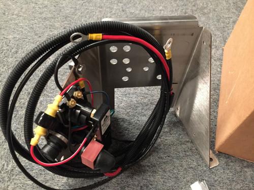 MerCruiser Stainless Steel Trim Pump Bracket W/Wiring & Solenoid 862548A1