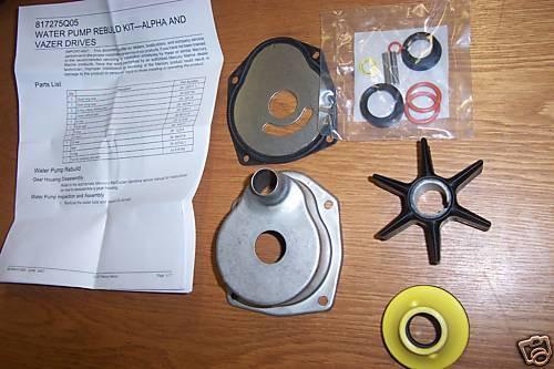 OEM MerCruiser Alpha Gen 2 Water Pump Repair Kit With Housing 817275Q05