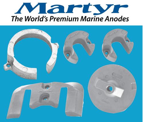 Martyr MerCruiser Bravo 1 Anode Kit (Aluminum) CMBRAVO1KITA