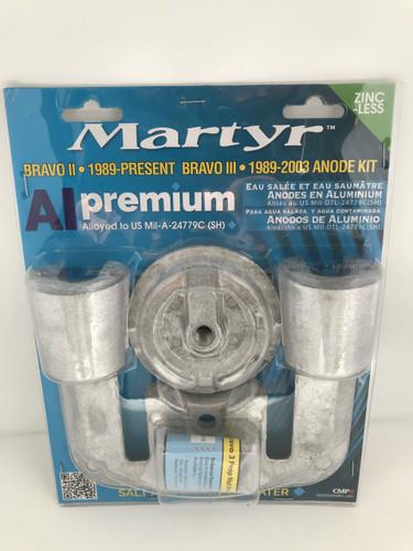 Martyr MerCruiser Bravo 2 & 3 Anode Kit (Aluminum) CMBRAVO23KITA