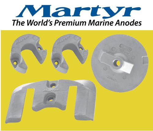 Martyr MerCruiser Bravo 2 & 3 Anode Kit (Magnesium) CMBRAVO23KITM