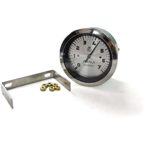 Sierra International 67363P Sterling Tachometer for O//B and 4 Cycle Gas Engines Black 3