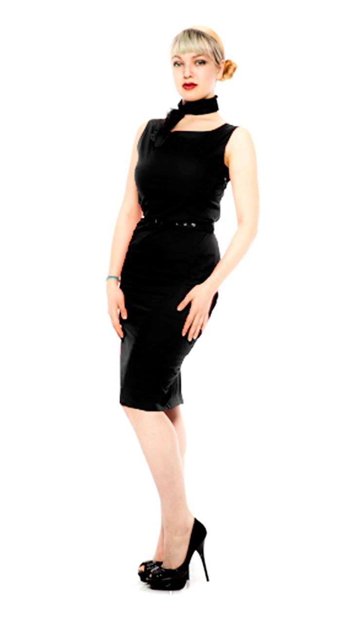 Hey Viv 50s Style Pencil Dress