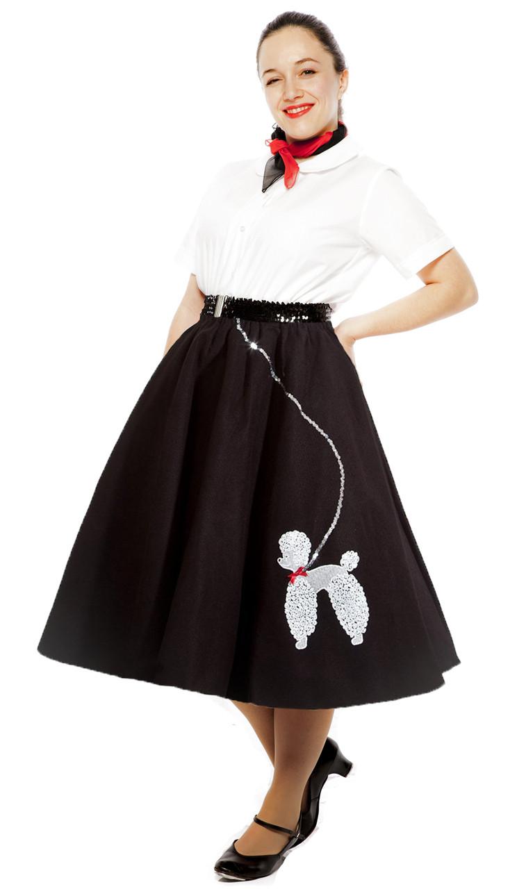 Poodle Skirt - Felt - Plus / XL