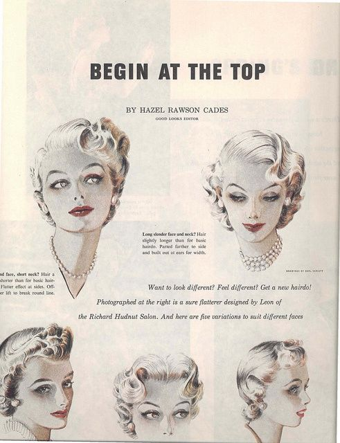 Compliment Your Style With A 50 S Hairdo Hey Viv