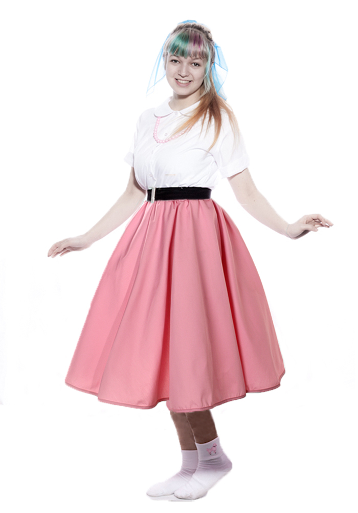 Easy Ways To Accessorize A 50s Style Poodle Skirt Or Circle
