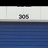 Self Storage Unit Plaque with border