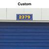 Custom Self Storage Unit Plaque