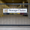 Storage Choice Gate Sign