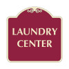 "Laundry Center Sign 18"" x 18"""
