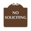 """No Soliciting Sign 18"""" x 18"""""""