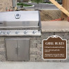 "Grill Rules Sign 18"" x 18"""